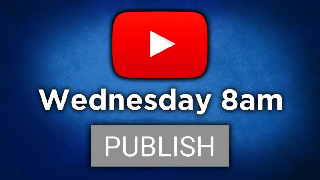 Publish your video on right time